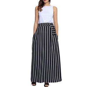 Just In! Women's Maxi Skirt with Pockets